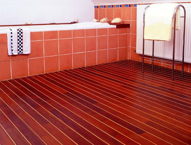 Parquet Salle De Bain Pont De Bateau Perfect Interesting Parquet